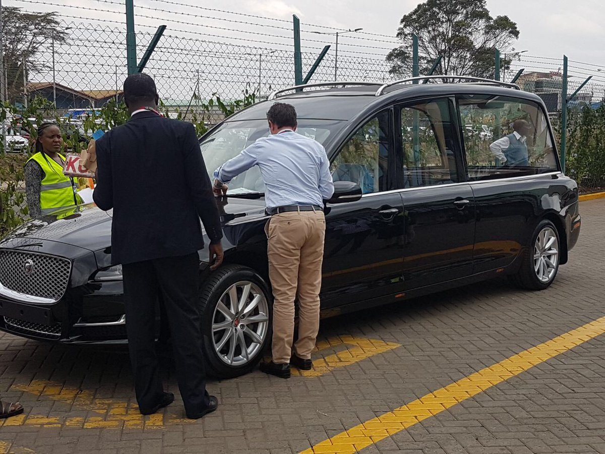 Lee Funeral Home spices up its fleet with Kes 17M Jaguar hearse after the deaths of 4 prominent people (Photos)