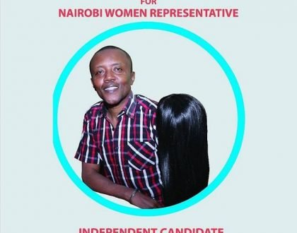 Poll: Maina Kageni comes third in Nairobi Women Rep race