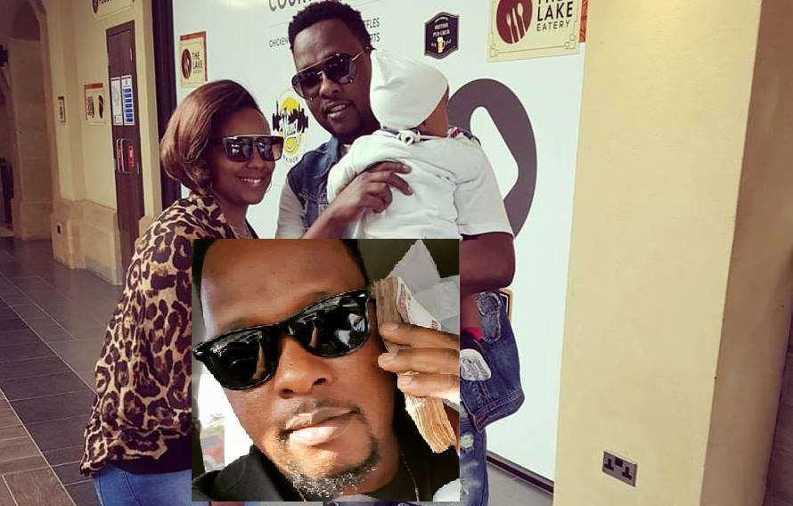 Marya's baby daddy flaunts wads of cash just to prove the curvaceous singer is well taken care of (Photos)
