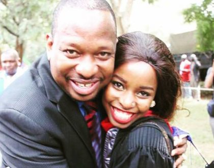Governor Mike Sonko's granddaughter all grown up, check out her adorable photo