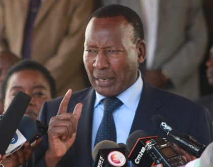 4 things Kenyans would wish to forget about Joseph Nkaissery