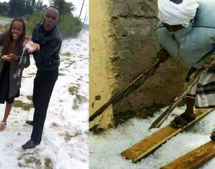 Popular Tour company starts cashing in on Nyahururu snow (Photos)