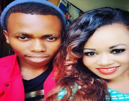 Meet Vera Sidika's brother who has also bleached himself silly (Photos)
