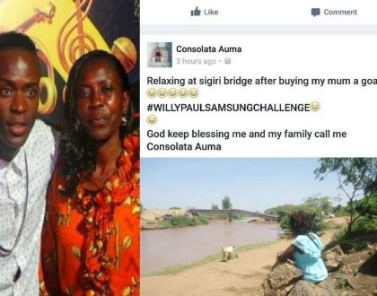 15 hilarious memes that followed after Willy Paul bragged about buying his mom 72K smart phone (Photos)