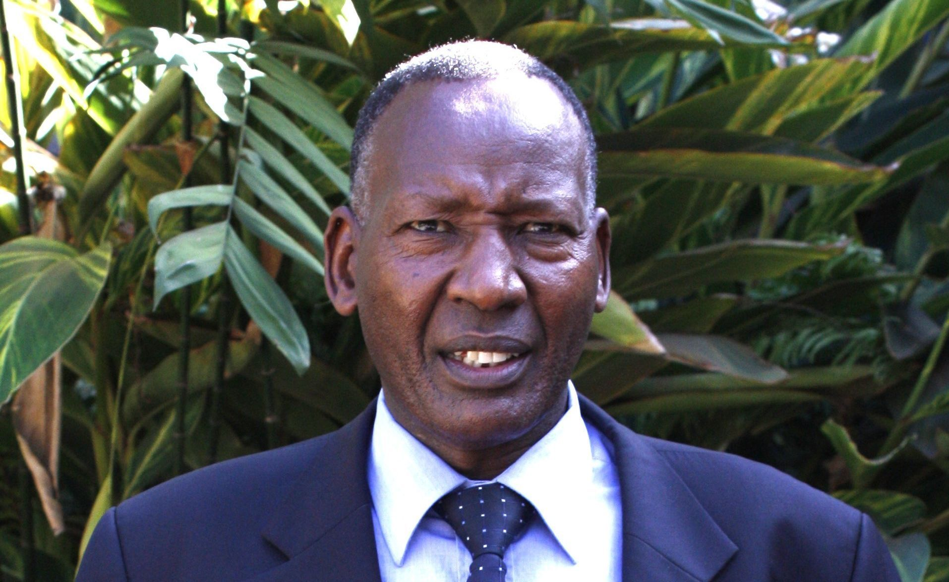 Former CS Nkaissery's wife admitted in hospital following his sudden death