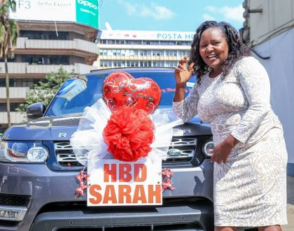 Bonfire Adventures CEO brings Nairobi to a standstill as he surprises wife with 30 million birthday package (Photos)