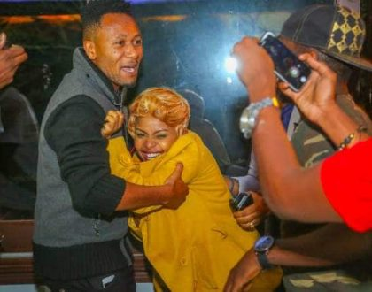 Dj Mo and Size 8 publicly kiss for the first time but this is why Kenyans on social media could not handle it!