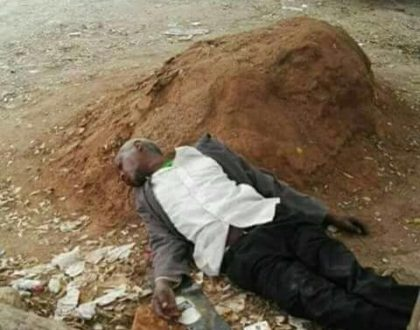 Did Githeri man lose his S8 worth 100k while drunk? (Photos)