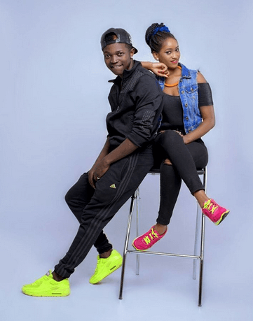Is Mr Seed's gorgeous girlfriend hinting that it is time they also got married?