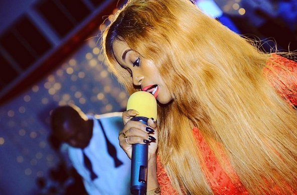 Popular singer breaks silence after she was rumored to be pregnant with Ali Kiba's baby