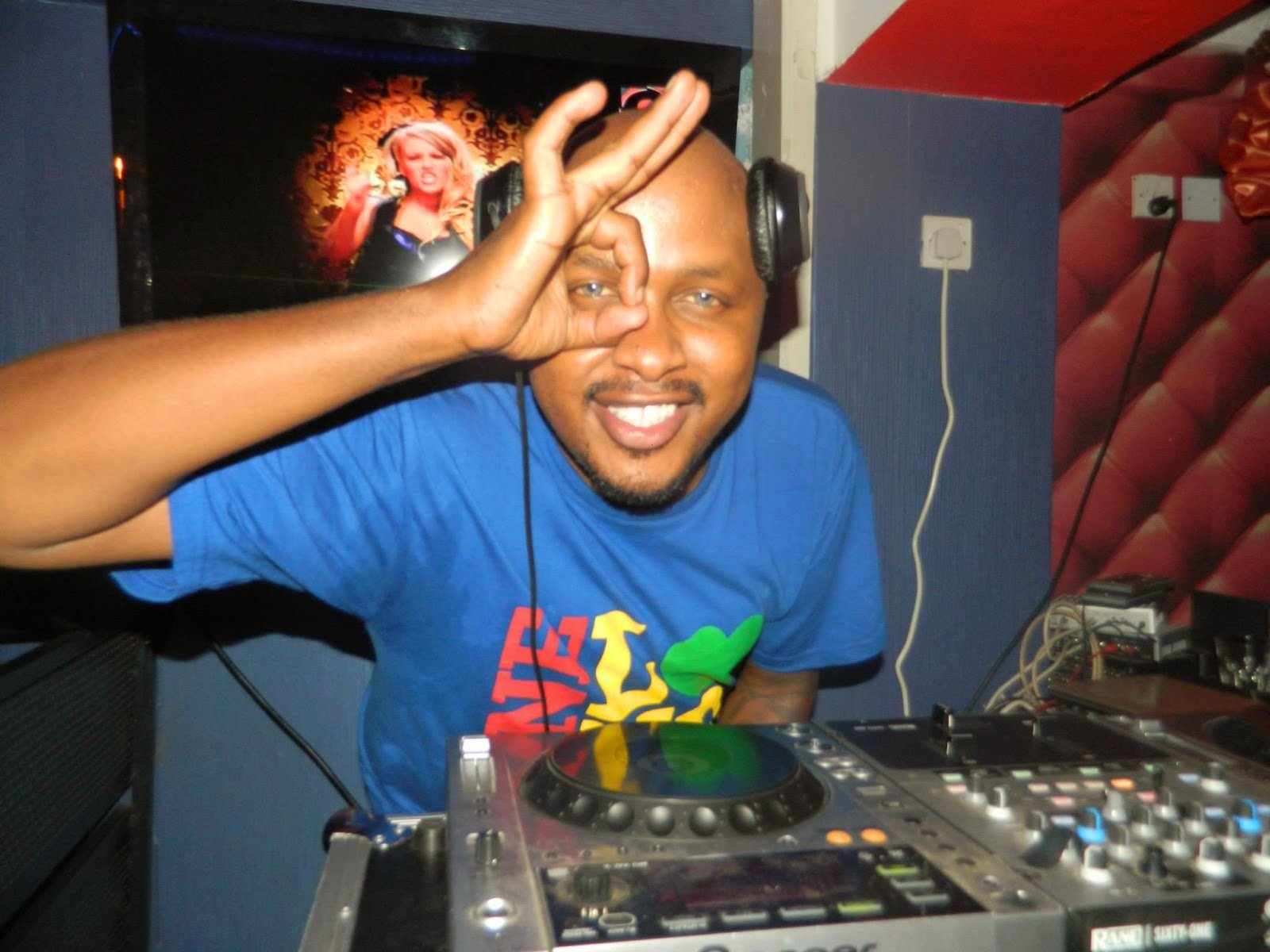 DJ Creme playing at a gig
