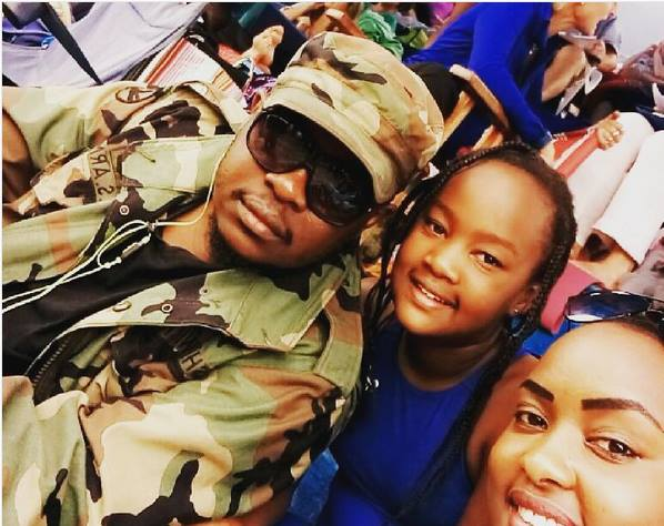 Meet the beautiful wife and adorable daughter the late Big Kev left behind