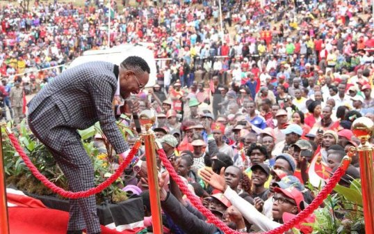 Mr Nice robbed during Governor Mike Sonko's inauguration ceremony