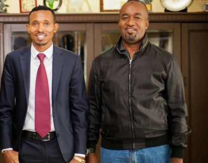 Mohammed Ali finally ends hostilities with Hassan Joho after a meeting with Raila Odinga