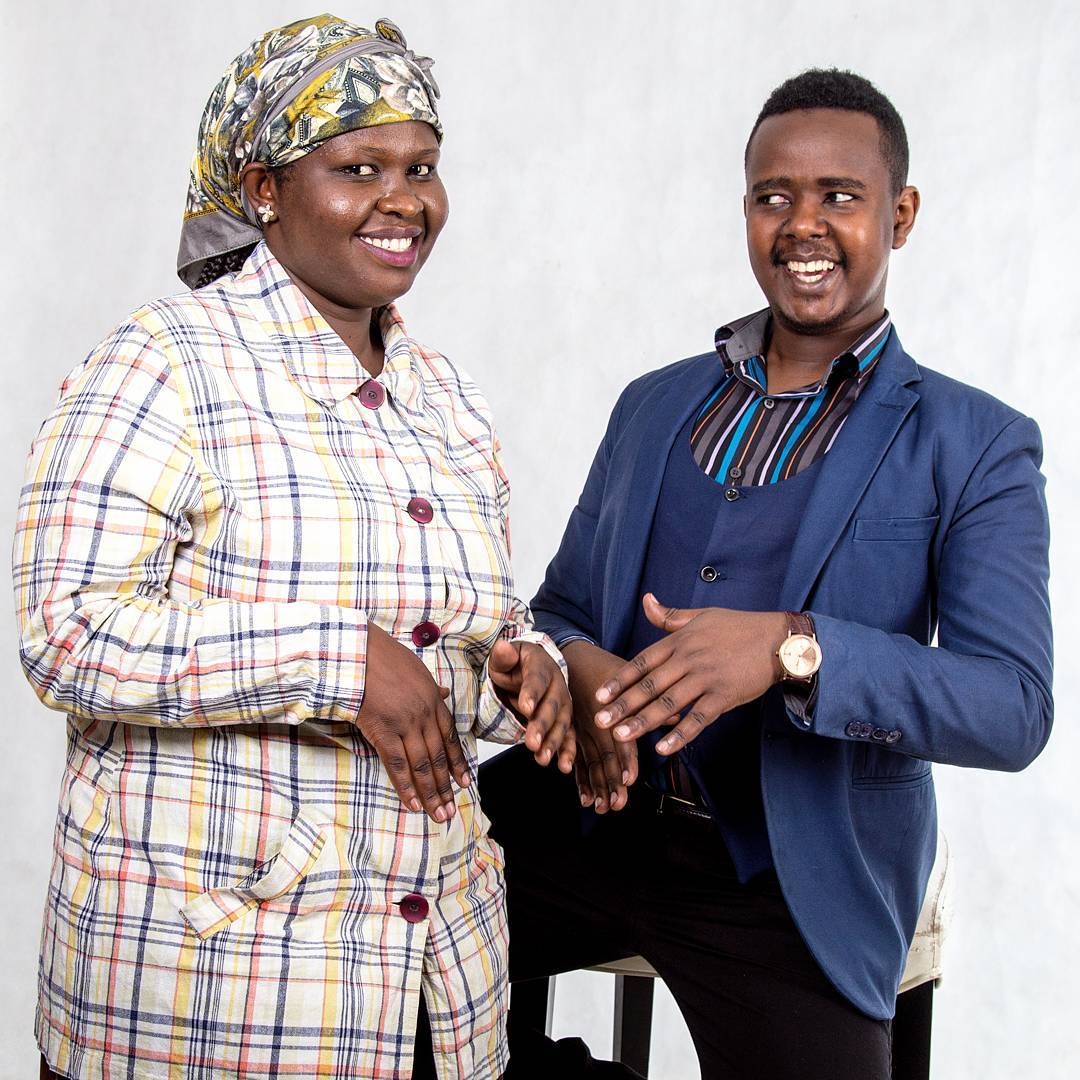 Comedian Karis flaunts the woman he plans to spend his forever with!
