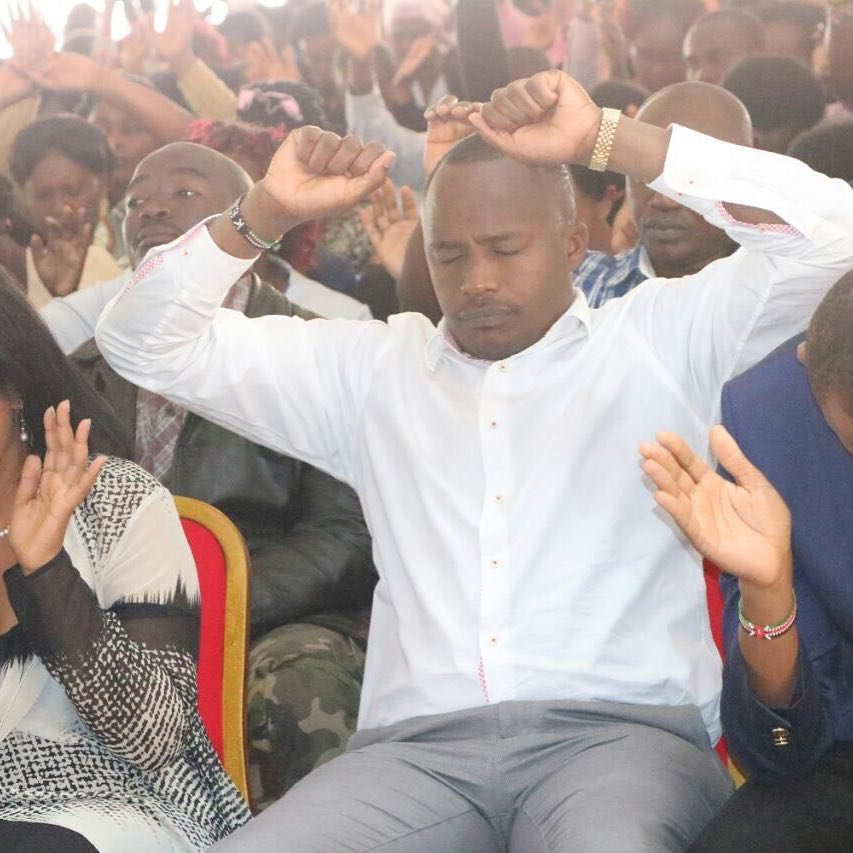 """""""Nothing would count without God above"""" Jaguar's message to people of Starehe after emerging the winner"""