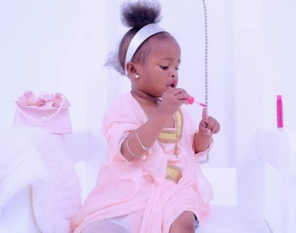 Unlike her 1st big birthday party, this is how Diamond Platnumz daughter celebrated her 2nd bash (Photos)