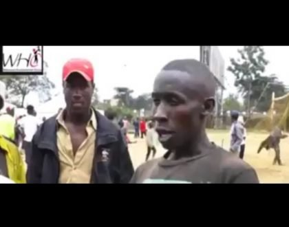 """Let us keep mama Kenya safe"" This is the powerful message one street-boy whose message has left many touched"
