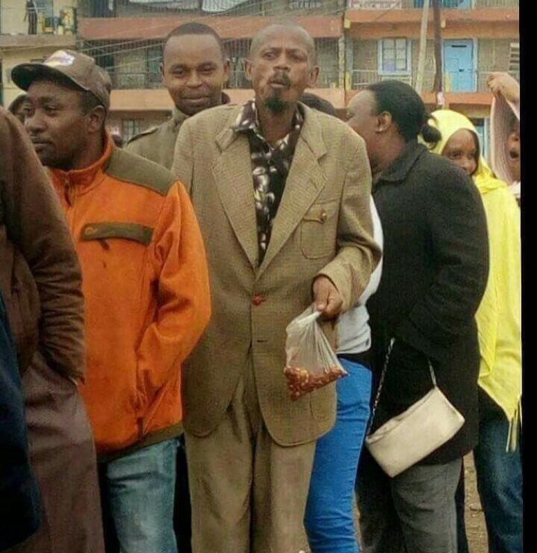 Help find the #Githeriman! Shaffie Weru among other celebrities now looking for the Githeri man