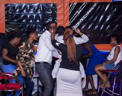 Kenyans continue to flock night clubs after elections and this is where most have been partying with celebrities