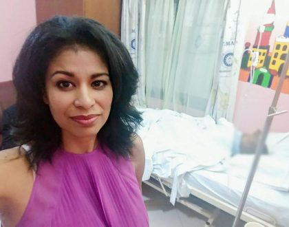 Julie Gichuru's youngest son discharged from hospital after short illness