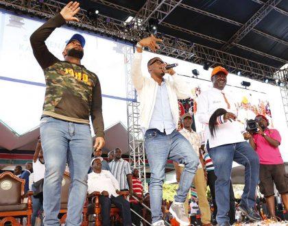 Joho's influence over Alikiba evident as Tanzanian star cancelled German tour to perform at Nasa rally