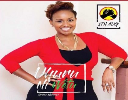 """""""I have been indecisive"""" Grace Msalame finally supports Uhuru's candidacy after trip to Mombasa"""