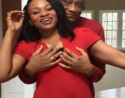 Creepy pastor who shocked the internet fondling his hot wife's breasts in public has been dumped (Photos)