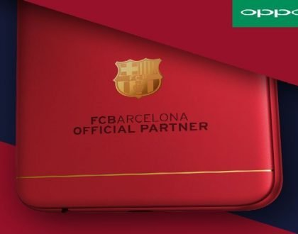 Leaked details of FC Barcelona OPPO F3 with 18K gold-plated club insignia set to launch in Kenya (Photos)