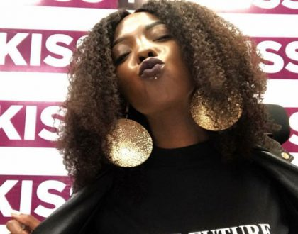 Kiss FM's Adelle Onyango gets new anti-suicide tattoo on the back of her palm (Photos)