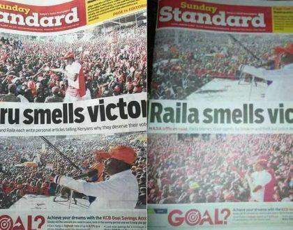Kenyans blast Standard newspaper for fanning ethnic tension with misleading headlines
