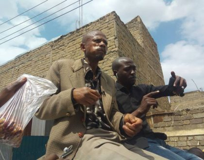 Photos of Githeri Man drunk and wasted, is he back to his old ways?