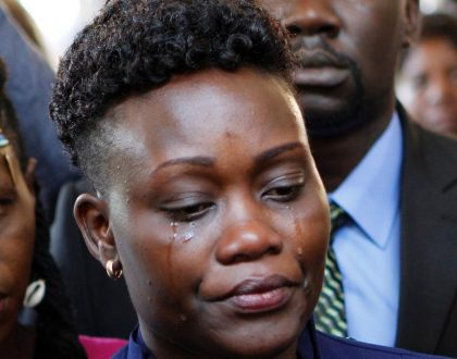 4 things Chris Msando's widow said at his requiem mass that have has set tongues wagging