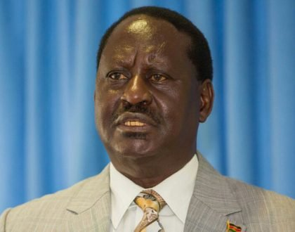 Raila releases the results of presidential election from Nasa tallying center