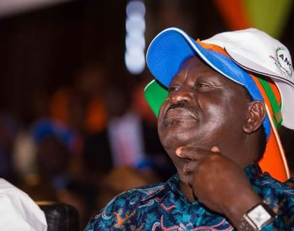 """I'm not going to be a candidate again"" Raila Odinga tells UK newspaper his plan"