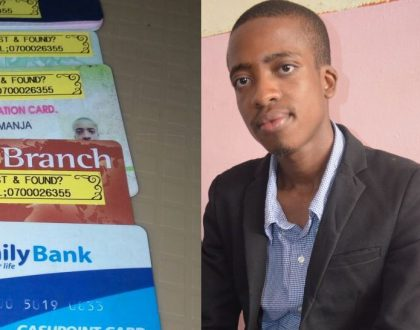 Inspiration Tuesday: Meet 24 year old Kenyan innovator who came up with a simple solution for lost IDs, Passports and ATM cards