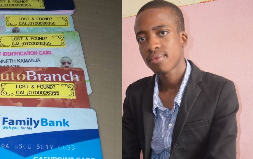Meet Kenyan innovator who came up with a simple solution for lost IDs,