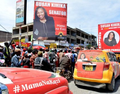 Prezzo endorses pretty Jubilee candidate whose well-oiled campaign caused jitters