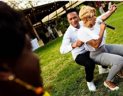 """""""Baby of all rich people and handsome men you chose me"""" DJ Mo spoils Size 8 with love on their 4th marriage anniversary"""