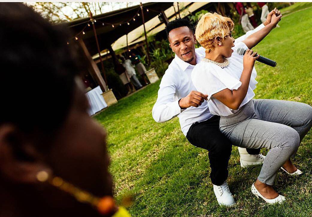 """Baby of all rich people and handsome men you chose me"" DJ Mo spoils Size 8 with love on their 4th marriage anniversary"