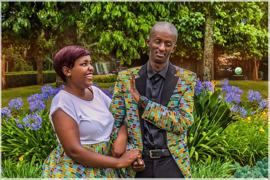 Comedian Njugush and wife expecting their first child, check out the grown baby bump (Photo)