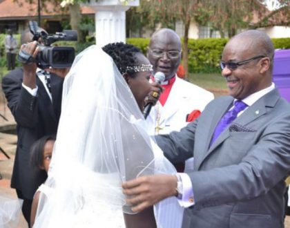 """""""You don't just walk in and out"""" Emmy Kosgei shares a few tips about marriage life"""