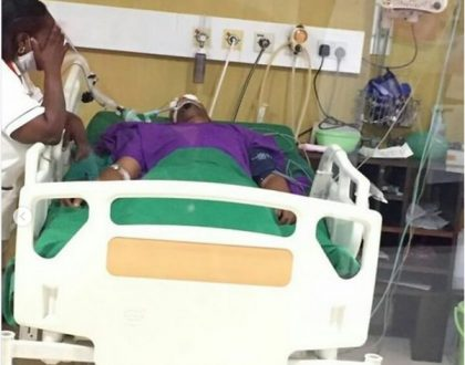 Nairobi Diaries actor fighting for his life in ICU needs your help (Details)