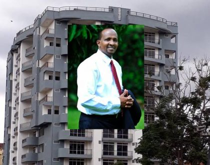 Kenyan rapper cries foul after seeing multi-storey apartment Aden Duale has built in Hurlingham (Photos)
