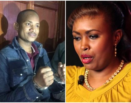 """The day they come for you it will come from somebody next to you"" Caroline Mutoko warns Babu Owino about how they will 'finish' him"
