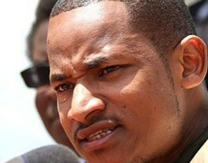 Babu Owino trolled over his brown teeth as he poses with billionaire oligarch - Jimmy Wanjigi (Photos)