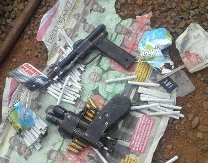 Hessy guns down 7 Gaza gang members along the Nyeri-Nairobi highway (Photos)