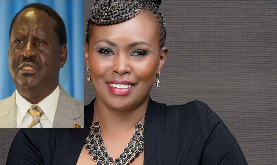 Caroline Mutoko says the one thing about Raila that no diehard Uhuru supporter will dare say