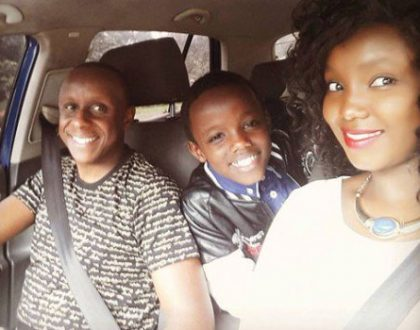 How Catherine Kamau, her husband and son spent their Christmas holidays!