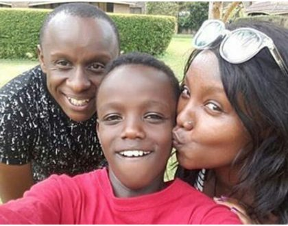 """""""His biological dad isn't active in his life"""" Phil Karanja reveals how Celina's son ended up calling him 'dad'"""